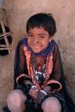 Sourire indien de fille Image libre de droits