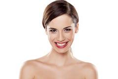 Sourire large de dents images libres de droits