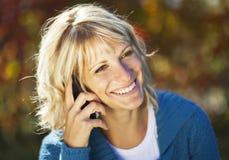 Sourire mûr de femme Image libre de droits