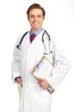 sourire médical de docteur Photo libre de droits