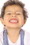 Sourire mignon d'enfant en bas âge Photos libres de droits