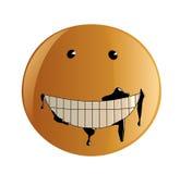 Sourire modifié illustration de vecteur