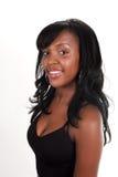 Sourire noir de beauté Image libre de droits