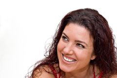 Sourire occasionnel Photos stock