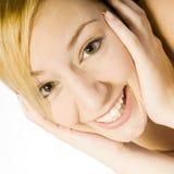 Sourire pour dentaire Photo libre de droits