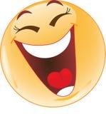 Sourire, rire. Images libres de droits