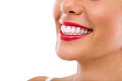 Sourire Toothy Photo libre de droits