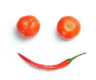 Sourire végétal photo libre de droits