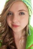Sourire vert d'hiver petit Photo stock