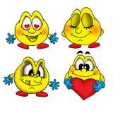 Sourires 1 illustration stock