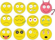Sourires Photo libre de droits