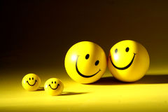 sourires Photos stock