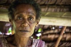Sourires de la Papouasie-Nouvelle-Guinée Photo libre de droits