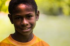 Sourires de la Papouasie-Nouvelle-Guinée Images stock