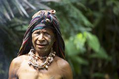 Sourires de la Papouasie-Nouvelle-Guinée Images libres de droits
