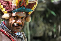 Sourires de la Papouasie-Nouvelle-Guinée Image stock