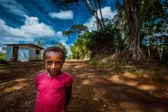 Sourires de la Papouasie-Nouvelle-Guinée Photographie stock libre de droits