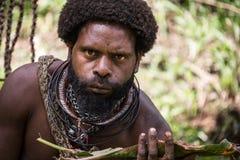 Sourires de la Papouasie-Nouvelle-Guinée Image libre de droits