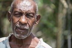Sourires de la Papouasie-Nouvelle-Guinée Photographie stock