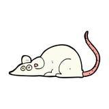 souris comique de bande dessinée Photo stock