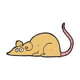 souris comique de bande dessinée Images stock