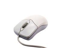 Souris d'ordinateur sur le fond blanc avec l'ombre molle 2 Photos libres de droits