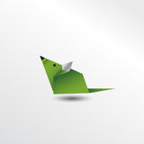 Souris d'origami Photo libre de droits