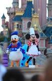 Souris de Minnie et canard de Donald Image stock