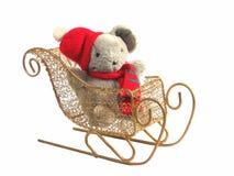 Souris de Noël Photographie stock
