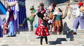 Souris et amis de Minnie chez Disneyworld Photographie stock libre de droits