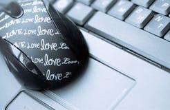 Souris et clavier Image stock