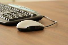 Souris et clavier Photo libre de droits
