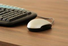 Souris et clavier Photos libres de droits