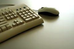 Souris et clavier images libres de droits