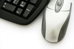 Souris et clavier Photo stock