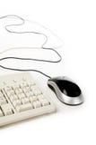 Souris et clavier d'ordinateur image stock