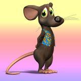 Souris ou rat #05 de dessin animé Images libres de droits
