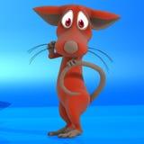 Souris ou rat mignonne de dessin animé Photos libres de droits