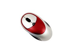 Souris rouge Images stock