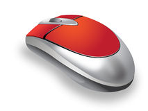 Souris sans fil Photos stock