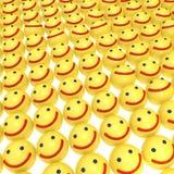 Sourit le fond Images libres de droits