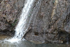 Sourse de la cascada Imagen de archivo libre de regalías