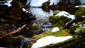 Sourse della cascata stock footage