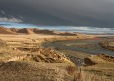 Soursen av Yellowet River arkivfoton