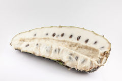 Soursop Annona muricata isolated Stock Photo