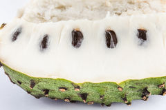 Soursop Annona muricata isolated Royalty Free Stock Photography