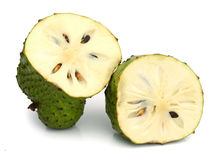 Soursop fruit and cuts Royalty Free Stock Photo