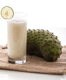 Soursop juice Stock Photo