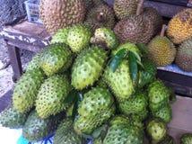 Soursop or Prickly Custard Apple Stock Photos