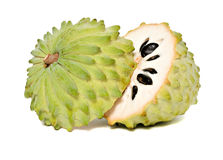 Soursop sections royalty free stock images